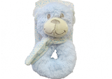 Rattle Blue Teddy