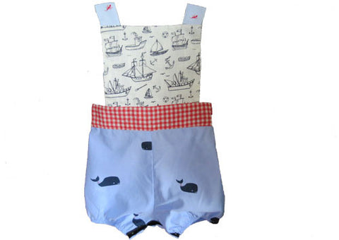 Sailor overalls front