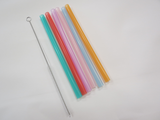 Silicone Straw and Brush Set