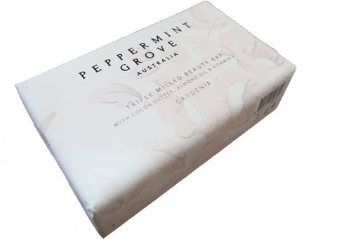 Soap Beauty Bar Peppermint Grove Gardenia