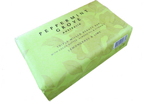 Soap Beauty Bar Peppermint Grove Lemongrass & Lime