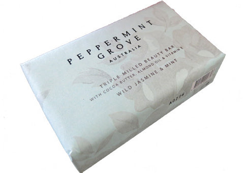 Soap Beauty Bar Peppermint Grove Wild Jasmine & Mint