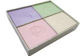 Soap Set Flower Box set of 4