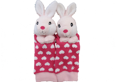 Socks with Rattlin' Toes - Rabbit