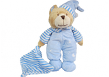 Soft Toy Baby Bear Cuddles Blue