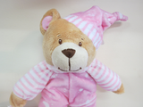Soft Toy Baby Bear Cuddles Pink