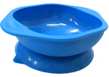 Suction Bowl - Blue Hippo