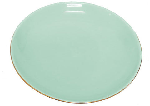 Teal Cake Plate