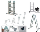 Youngman Multipurpose Aluminium 4-Way Combination and Extendable Ladder