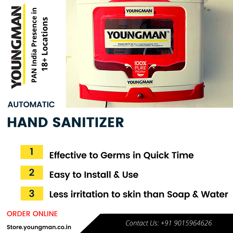 Automatic Hand Sanitizer (1-Year Warranty)