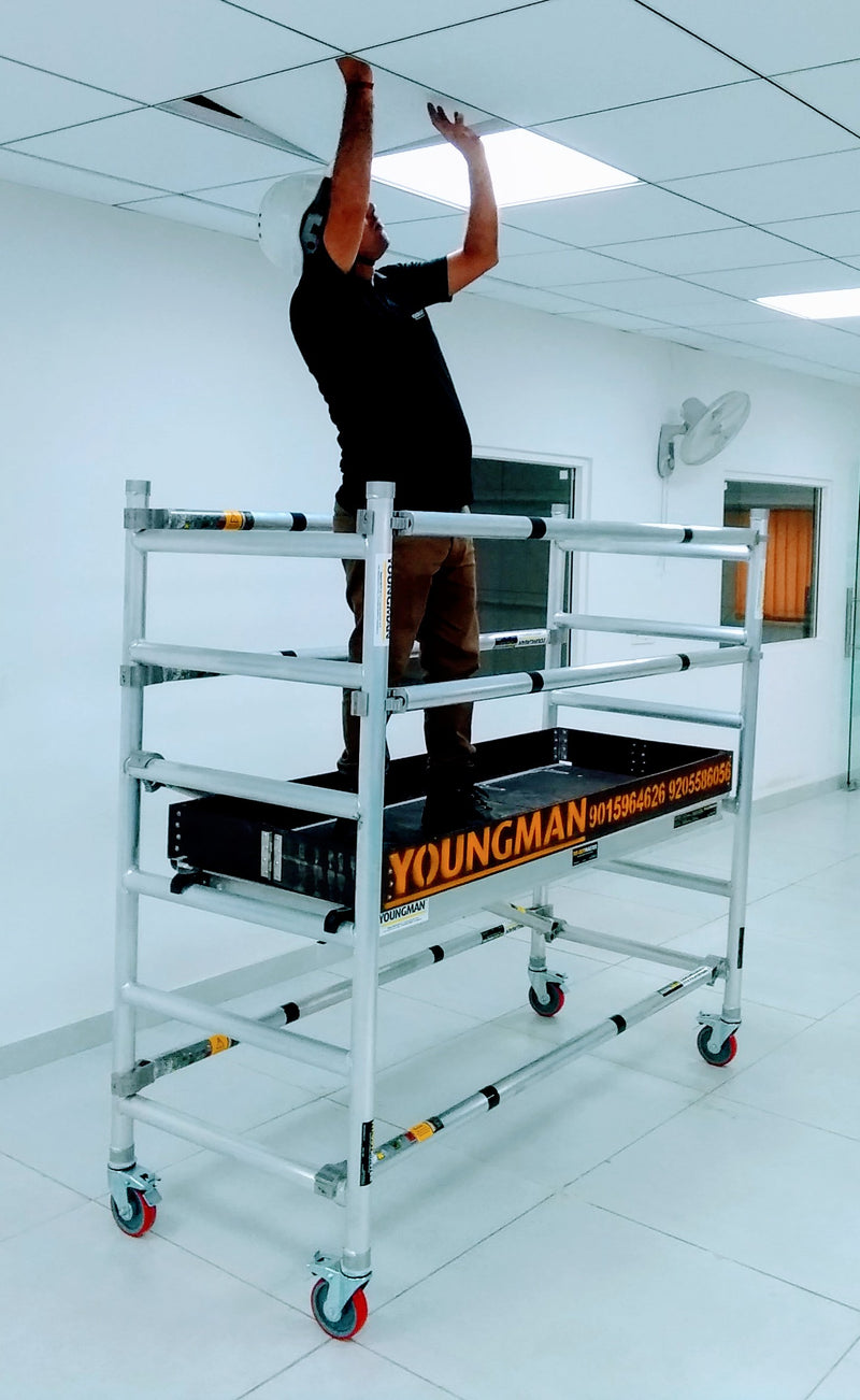 FITOUT MASTER - Lightweight Mobile Access Towers For Indoor Use