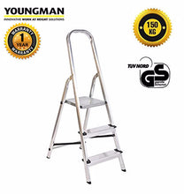 Load image into Gallery viewer, Youngman classic aluminium ladder