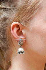 MEENAKSHI EARRINGS (925) - BAUBLE LOVE