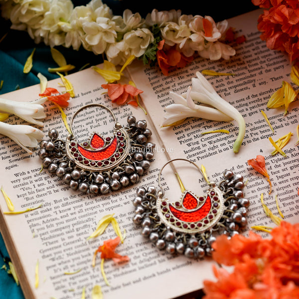 JODHA AFGHAN EARRINGS - BAUBLE LOVE