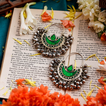 ZULFI AFGHAN EARRINGS - BAUBLE LOVE