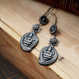 DEVI SILVER EARRINGS (925) - BAUBLE LOVE