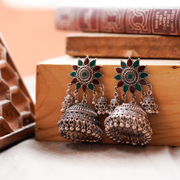 KUSUM JHUMKA EARRINGS - BAUBLE LOVE