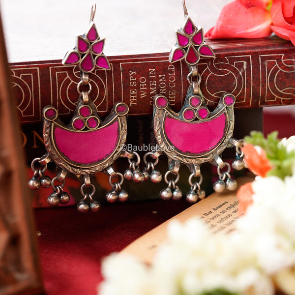GULAAL GLASS EARRINGS - BAUBLE LOVE