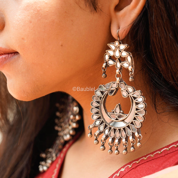 CHANDA GLASS EARRINGS - BAUBLE LOVE