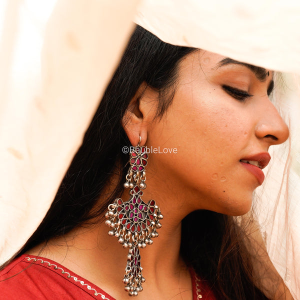 LAAL GULABO EARRINGS - BAUBLE LOVE