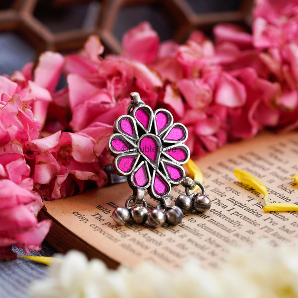 PINK PHOOLKALI RING - BAUBLE LOVE