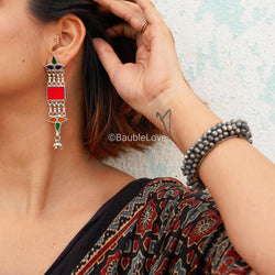 SAMIKSHA GLASS EARRINGS