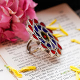 MILI GLASS RING