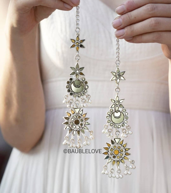STATEMENT GLASS EARRINGS - BAUBLE LOVE