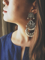 GANESHA STATEMENT EARRINGS - BAUBLE LOVE