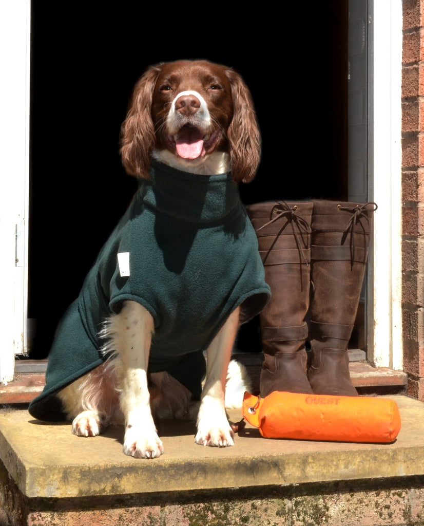 NESS DOG DRYING COAT (PATTERNED FLEECE)