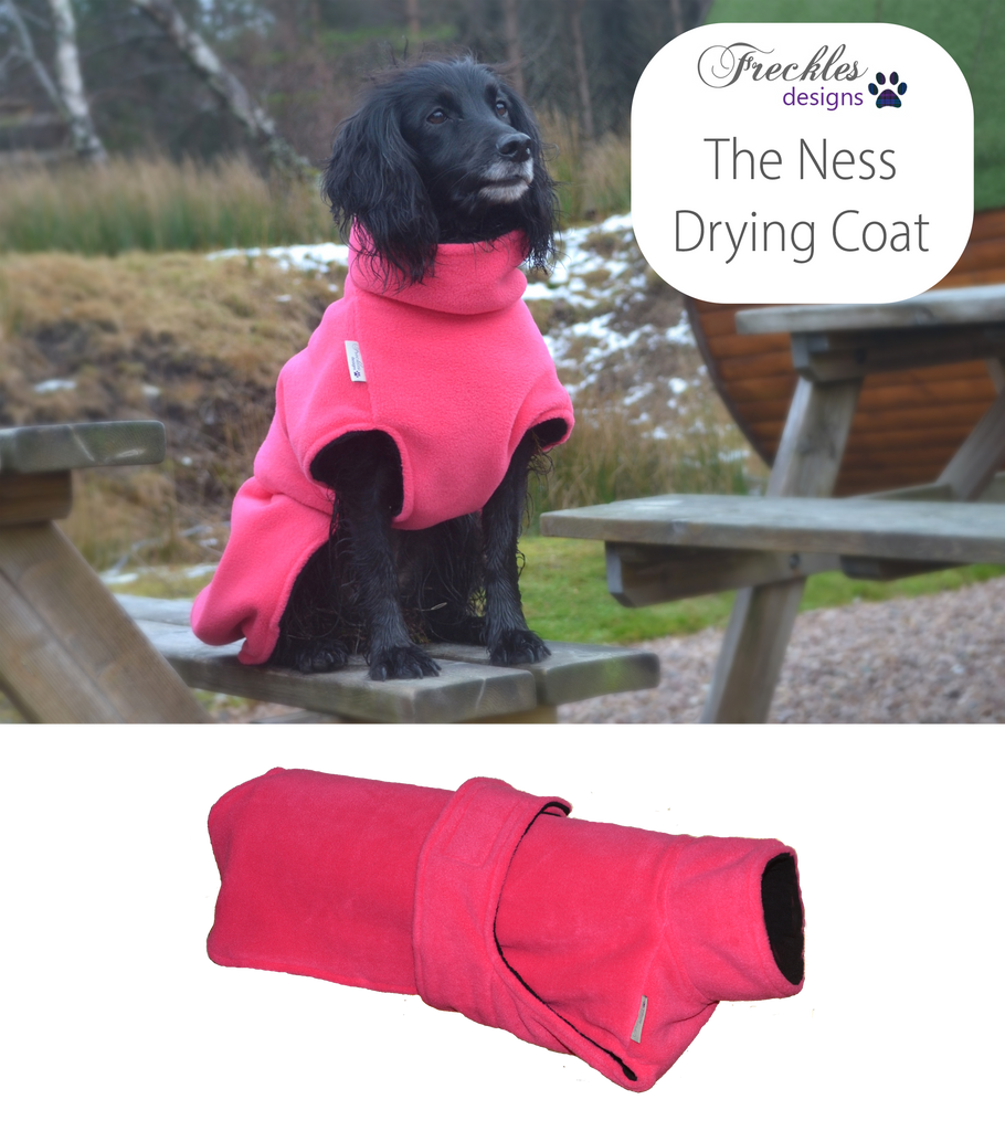 WEST LOTHIAN CANICROSS DOG DRYING COAT