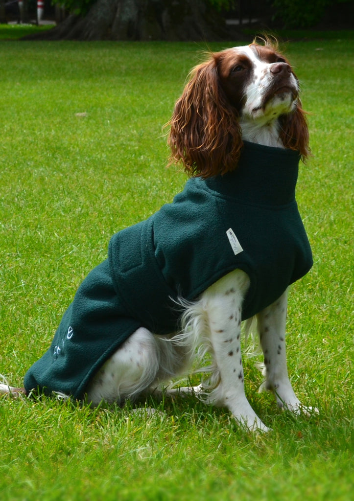 Dog Drying Coat Ness Fleece Microfibre towelling