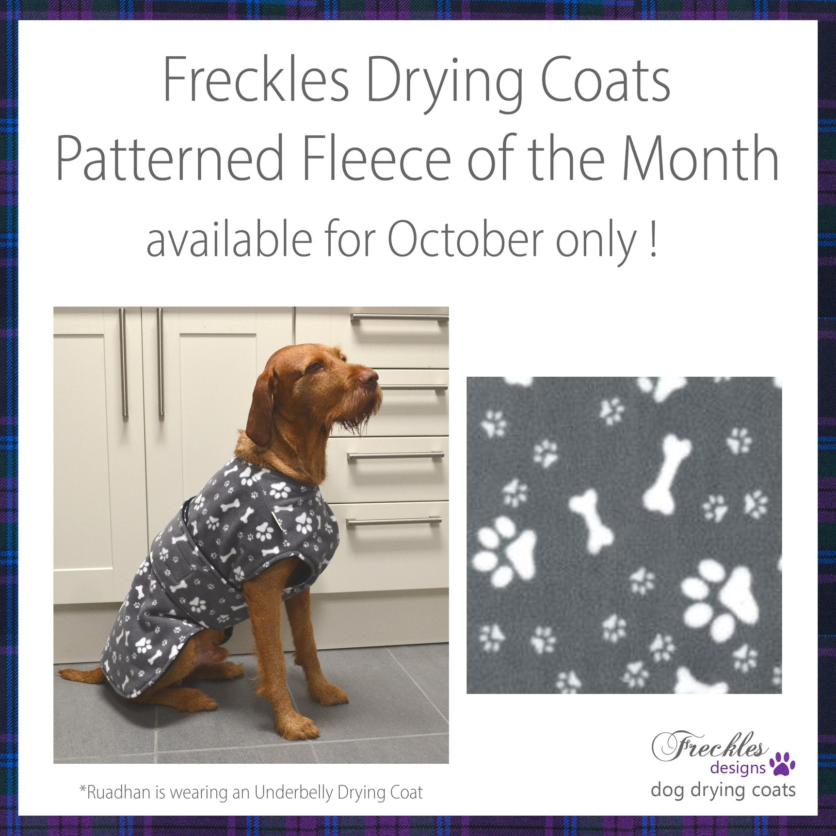 FRECKLES UNDERBELLY DRYING COAT
