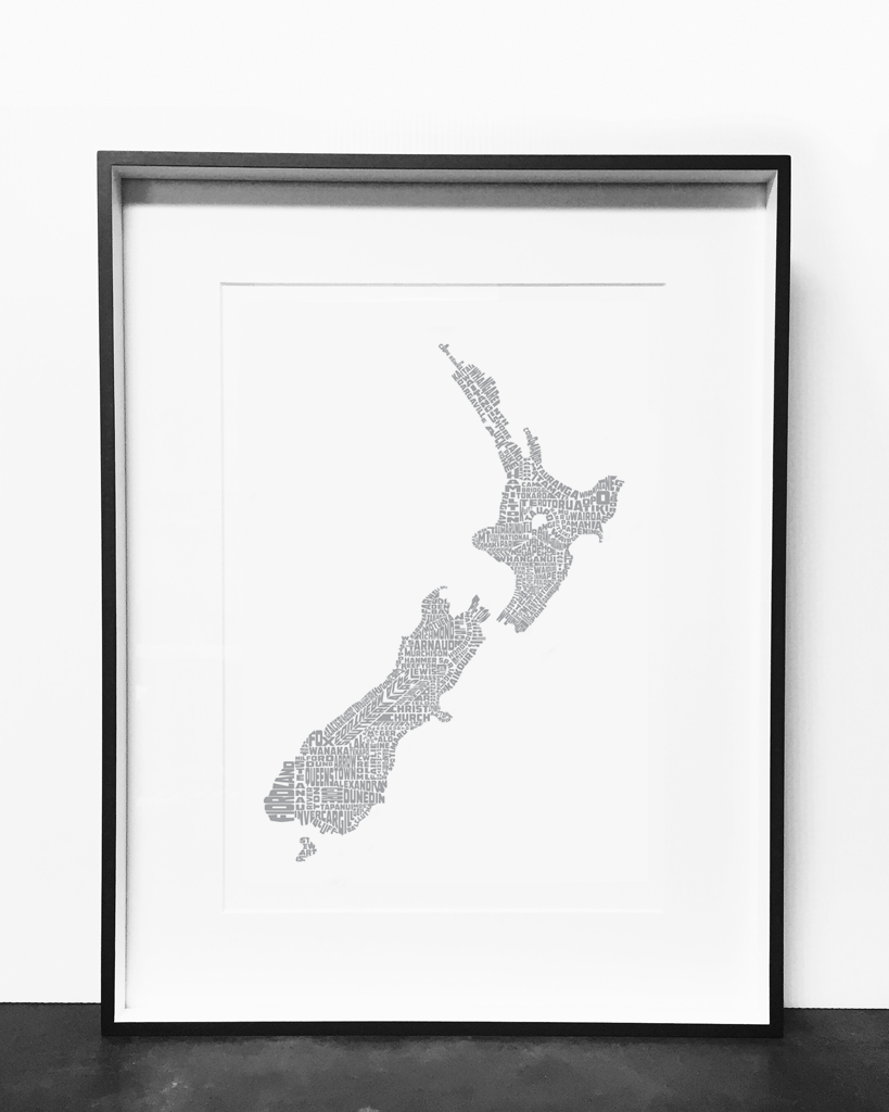 New Zealand Print Silver