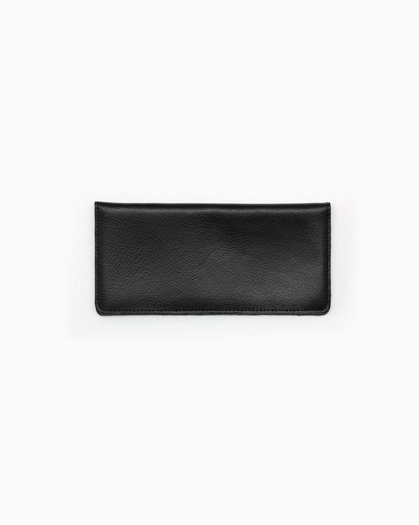 Minimalist Long Black Wallet