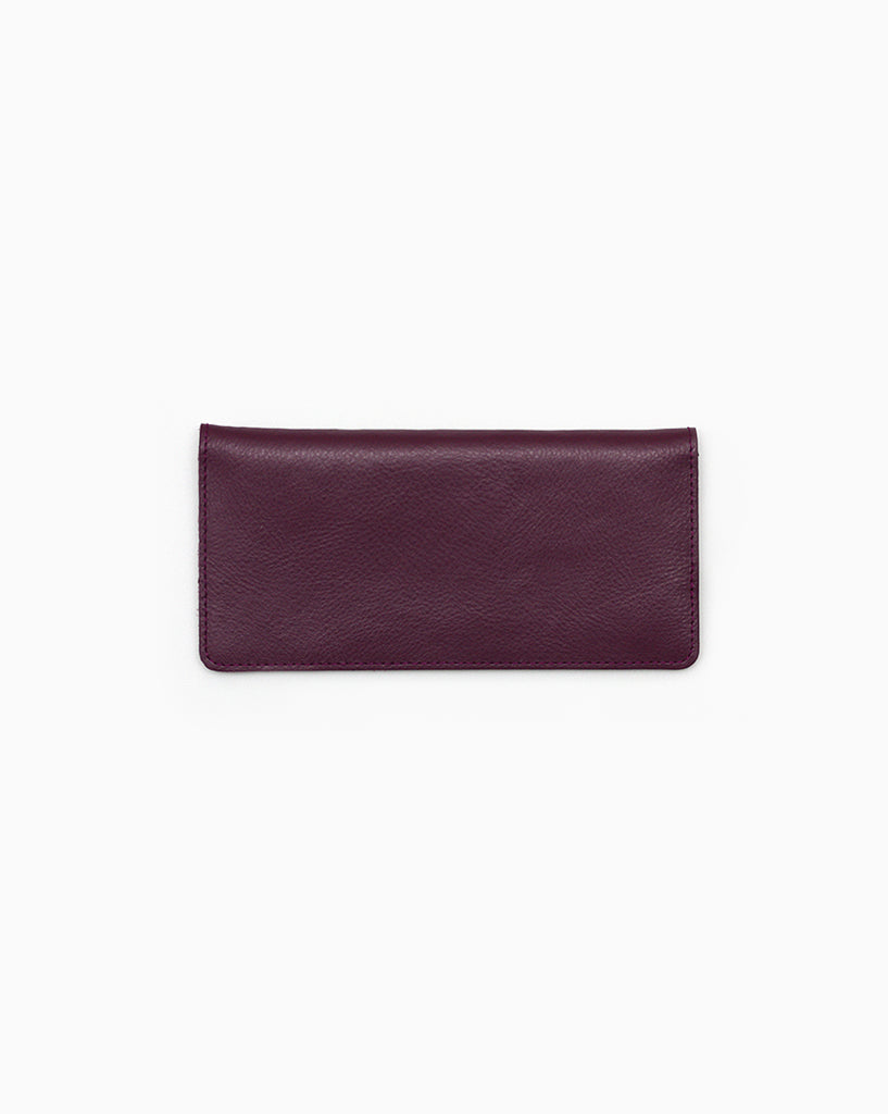 Minimalist Long Purple Wallet