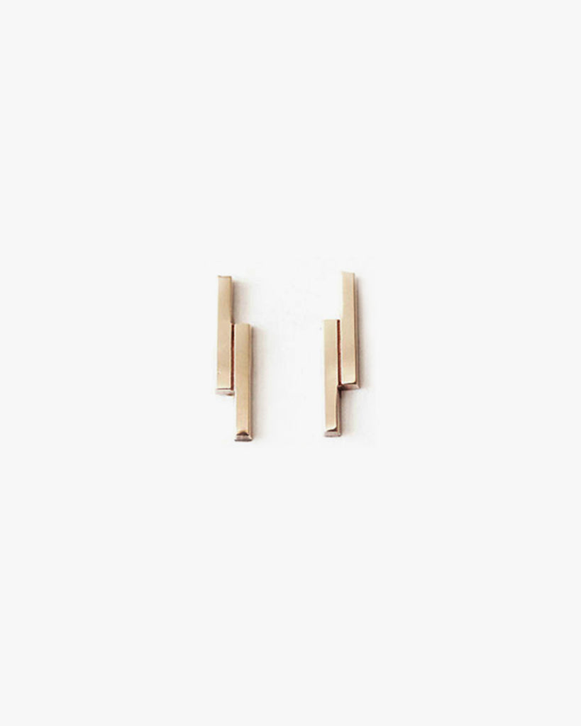 Double Bars Earrings