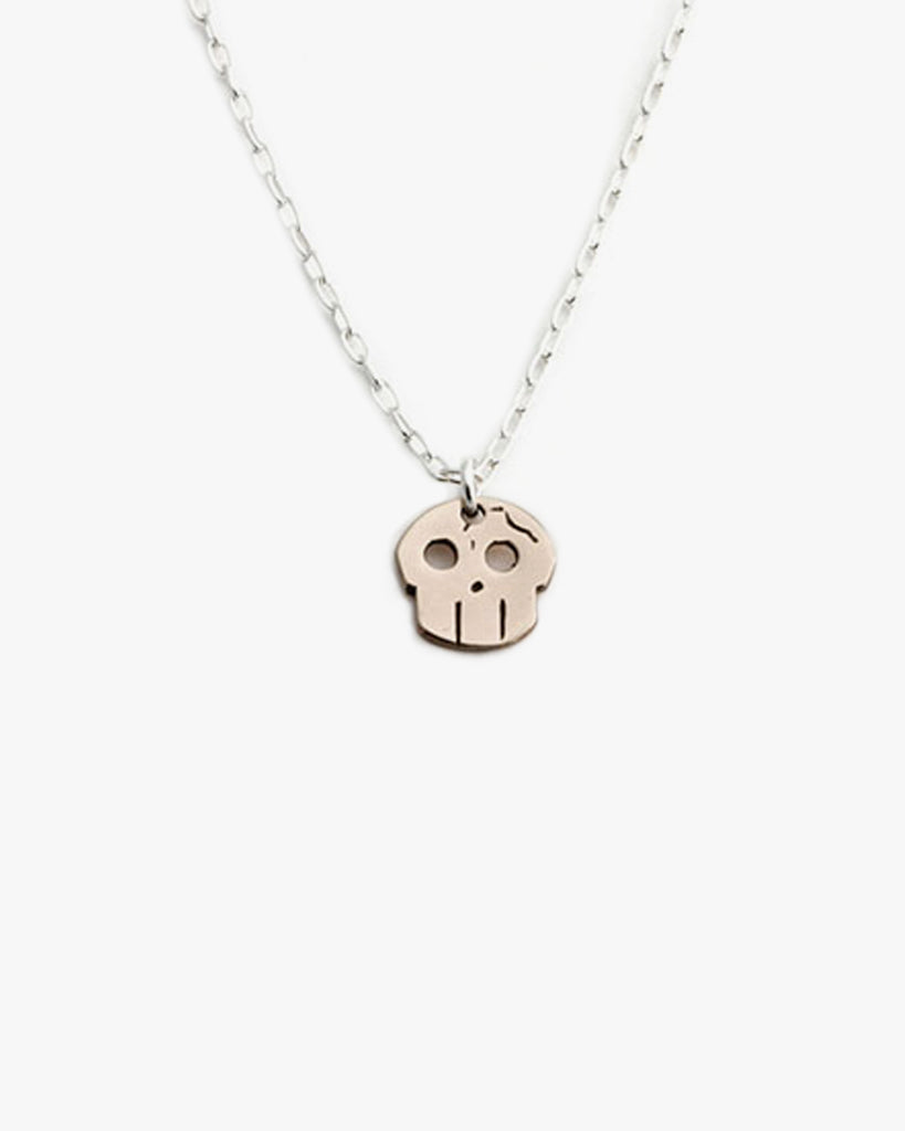 Fractured Skull Necklace