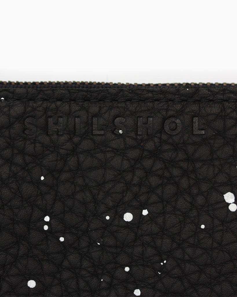 Small Speckled Zipper Bag