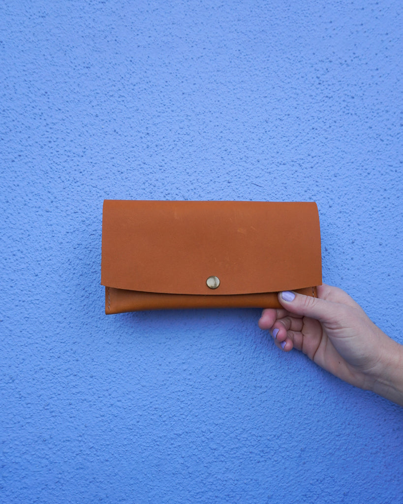 Minimalist Wallet Tan Leather