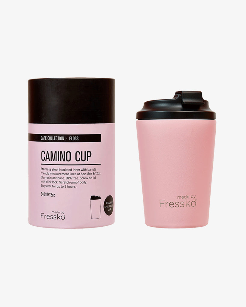 Camino Reusable Coffee Cup 340ml Floss