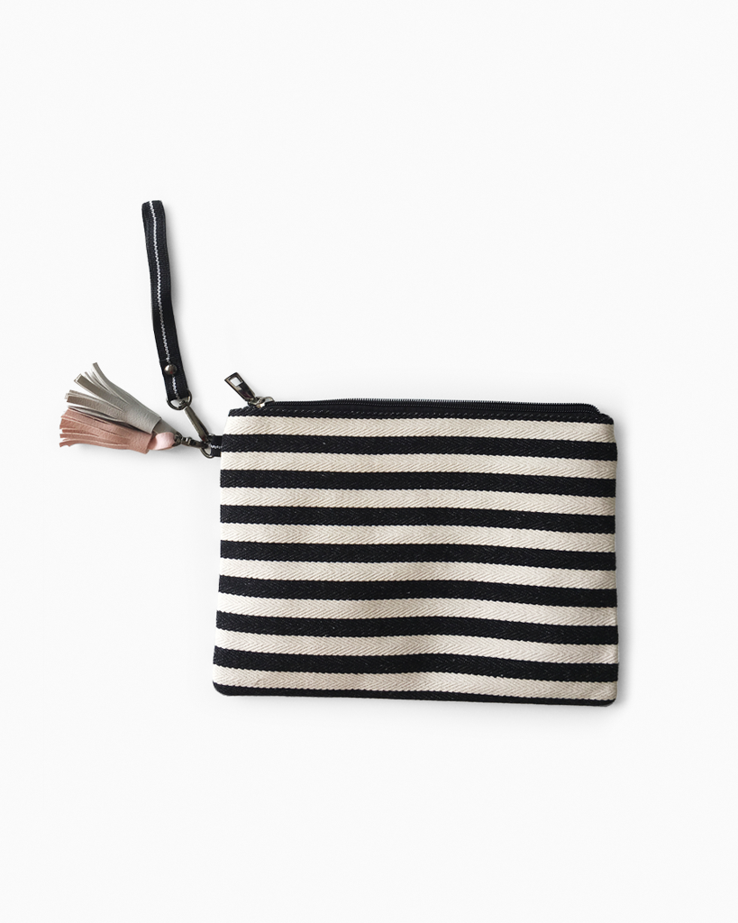 Canvas Tassel Purse