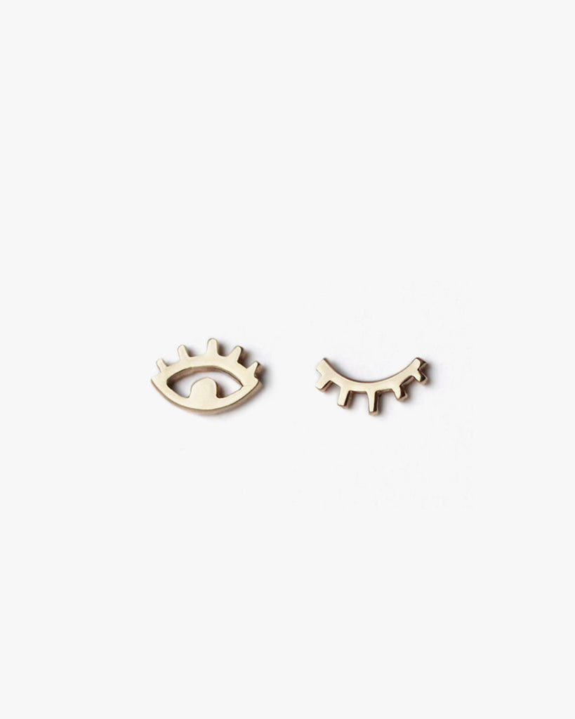 Winking Eye Studs BZR Collab