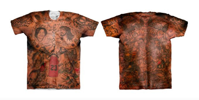 How Did We Get a J.R. Smith Tattoo T-Shirt?