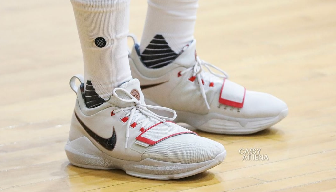 Paul George Spotted in Unreleased Nike PG1 Colorways