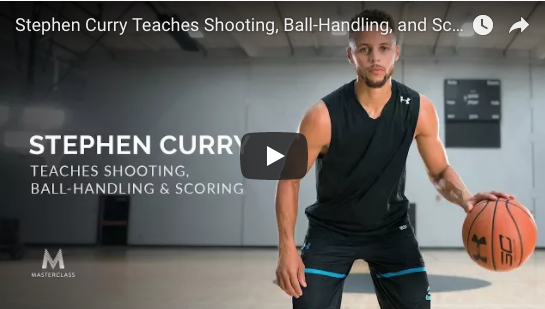 Stephen Curry Teaches Shooting, Ball Handling & Scoring - Master Class Online