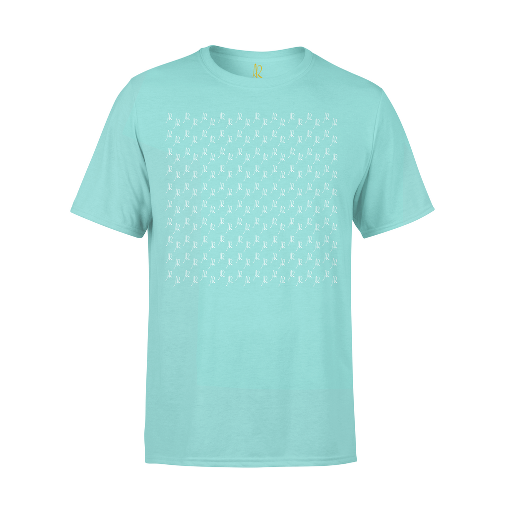 All Over Print Short Sleeve Tee - Mint