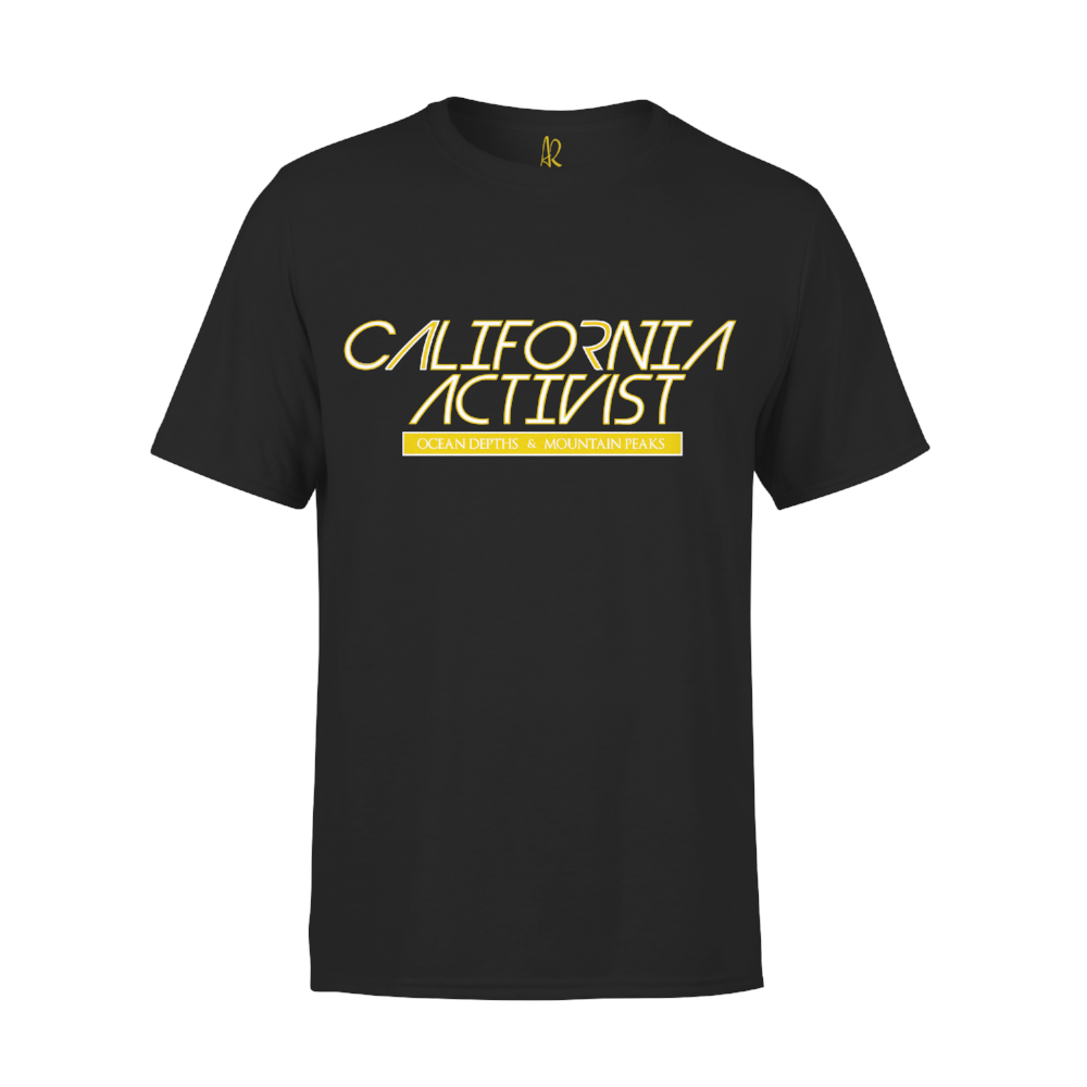 Cali Activist Short Sleeve Tee - Black