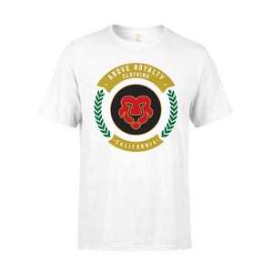 Cali Lion Short Sleeve Tee - White