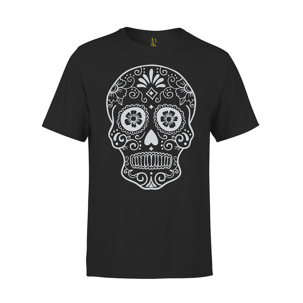 Cinco Skull Short Sleeve Tee - Black